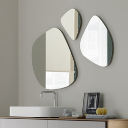 Stone shape mirrors | Wall mirrors | CODIS BATH