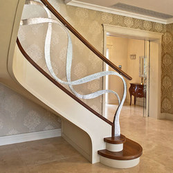 Dubai | Escaleras de madera | Siller Treppen