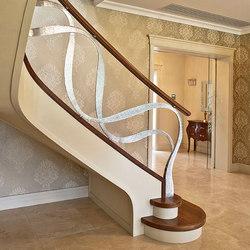 Dubai | Wood stairs | Siller Treppen