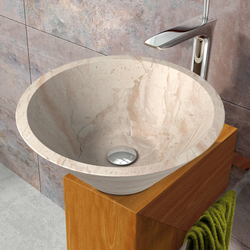 Conico beige washbasin | Wash basins | CODIS BATH