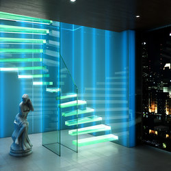 Ghost | Glass stairs | Siller Treppen