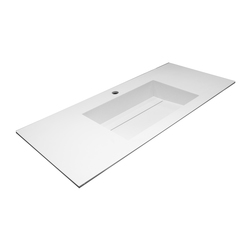 Rubik inset basin worktop | Wash basins | CODIS BATH