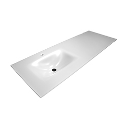 Bowl shaped inset basin worktop | Wash basins | CODIS BATH