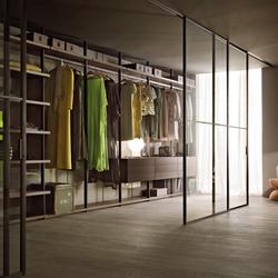 hochwertige begehbare schr nke aufbewahrung auf architonic. Black Bedroom Furniture Sets. Home Design Ideas