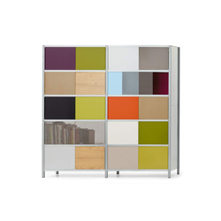 mf-system | Shelf with sliding doors | Armoires | mf-system