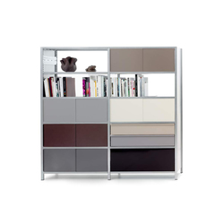mf-system | Shelf with sliding doors | Office shelving systems | mf-system