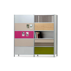 mf-system | Room divider with sliding doors | Cabinets | mf-system