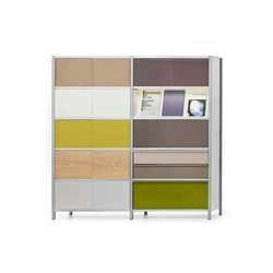 mf-system | Shelf with sliding doors | Systèmes d'étagères | mf-system