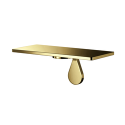 Agaho Brass Shelf 32M | Mensole / supporti mensole | WEST inx