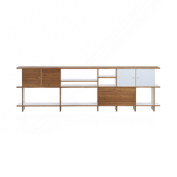 QR W-NB Sideboard | Caissons | OLIVER CONRAD