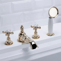 Antique Grupo grifones bañera | Grifería para bañeras | Devon&Devon