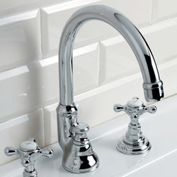Austin 3 hole basin set | Wash basin taps | Devon&Devon