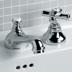 City 3 hole basin set | Wash-basin taps | Devon&Devon
