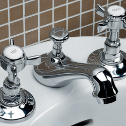 Coventry 3 hole bidet set | Bidet taps | Devon&Devon