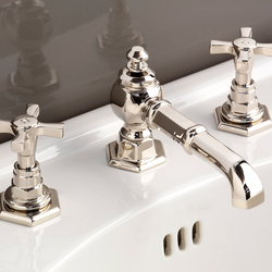 Jubilee 3 hole basin set | Wash basin taps | Devon&Devon