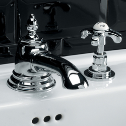 Mayfair 3 hole basin set | Wash-basin taps | Devon&Devon