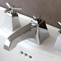 Time 3 hole basin set | Wash-basin taps | Devon&Devon