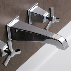 Time Mixer, wall mounted | Bath taps | Devon&Devon