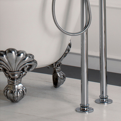 White Rose Free standing legs | Bathroom taps accessories | Devon&Devon