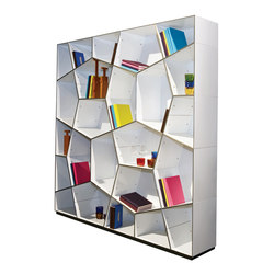 Pattern bookcases | Room dividers | Quodes