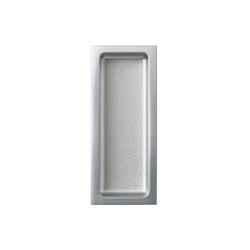 Agaho S-line Sliding-Door Pull 427 | Flush pull handles | WEST inx