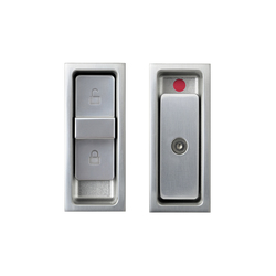 Agaho S-line Sliding Door Lock Set 427L | Bath door fittings | WEST inx