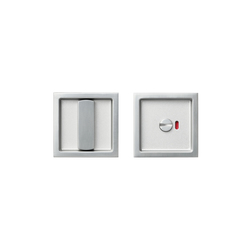 Agaho Basis Sliding Door Lock Set 432L | Bath door fittings | WEST inx