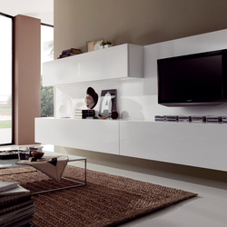 Wohnwand italian design  WALL STORAGE SYSTEMS - High quality designer WALL STORAGE SYSTEMS ...