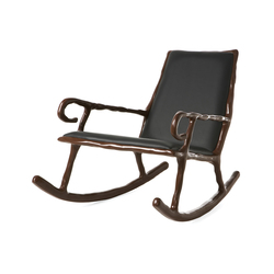 Clay Low rocking chair | Sillones | DHPH