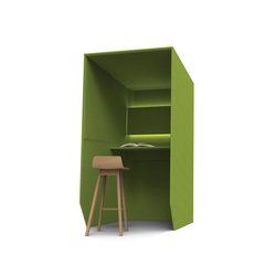 BuzziBooth Standing | Hotdesking / temporary workspaces | BuzziSpace