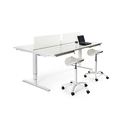 Aero Desk Sharing | Desking systems | Swedstyle
