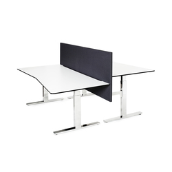 Classic Flex - electric sit & stand frame | Desking systems | Swedstyle
