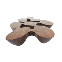 Quark | wood | Lounge tables | Emmanuel Babled