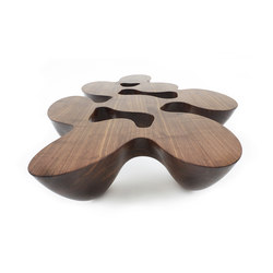 Quark | wood | 8E | Coffee tables | Emmanuel Babled