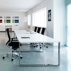 Aplomb meeting table | Desking systems | ARLEX design