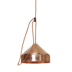 Lloop | copper polished | Pendelleuchten | Vij5
