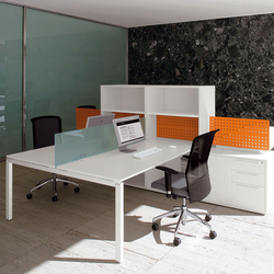 Cartesio Workstation | Desking systems | Faram