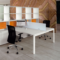 Cartesio Workstation | Tischsysteme | Faram
