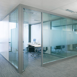 Material glass | Wall partition systems