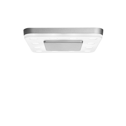 SQUARE mounted lamp | Ceiling lights in aluminium | RIBAG