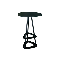 Pop table de bar avec repose pieds | Tables mange-debout | Miiing