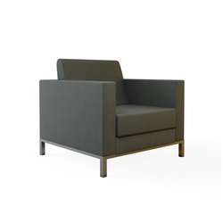 Luna Single Sofa | Lounge chairs | Nurus