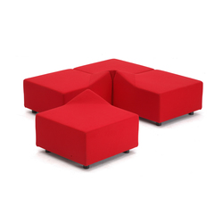 Stone Pouffe | Elementi di sedute componibili | Nurus