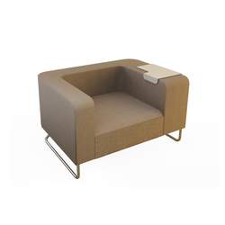 Hi&Lo Single Sofa | Lounge chairs | Nurus