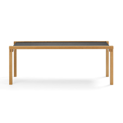 Principle of an architecture | WB-2 | Lounge tables | LÖFFLER