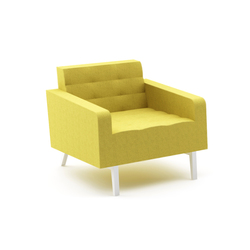 Greta Single Sofa | Poltrone lounge | Nurus