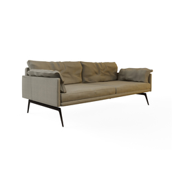 Tan Double Sofa | Divani lounge | Nurus