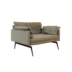 Tan Single Sofa | Sillones lounge | Nurus