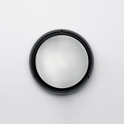Pantarei 190 polycarbonate black | Outdoor wall lights | Artemide Architectural