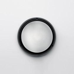 Pantarei 190 polycarbonate black | Outdoor wall lights | Artemide Architectural